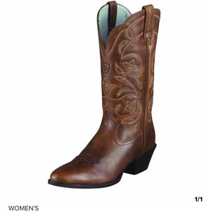 ARIAT genuine leather cowboy boots women size 8